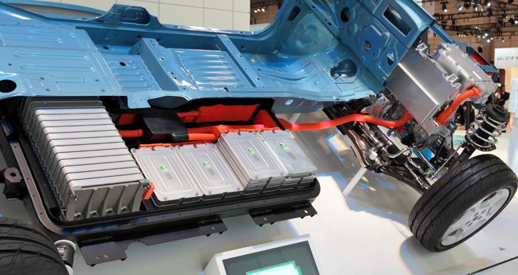 Chaque Nissan Leaf emporte 220 kg de batteries environ (Creative Commons Licence)