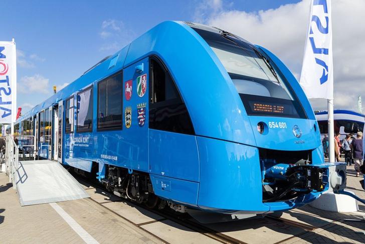 Alstom Coradia iLint au salon Innotrans 2016 (Creative Commons Licence)