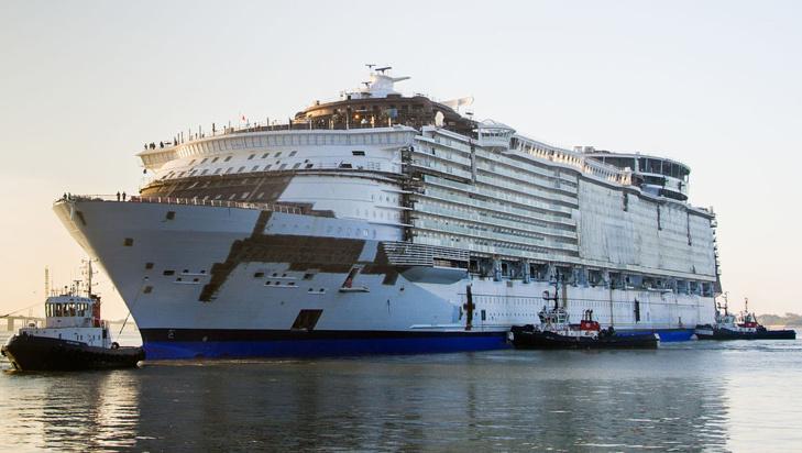 Les chantiers navals de Saint-Nazaire sous pavillon italien ?