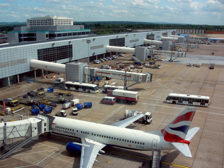 Aéroport de Gatwick, bienvenue dans le nouveau monde