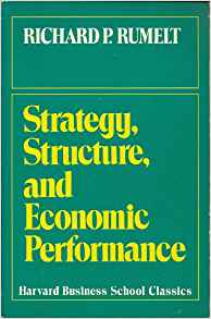 Strategy, Structure and Economic Performance