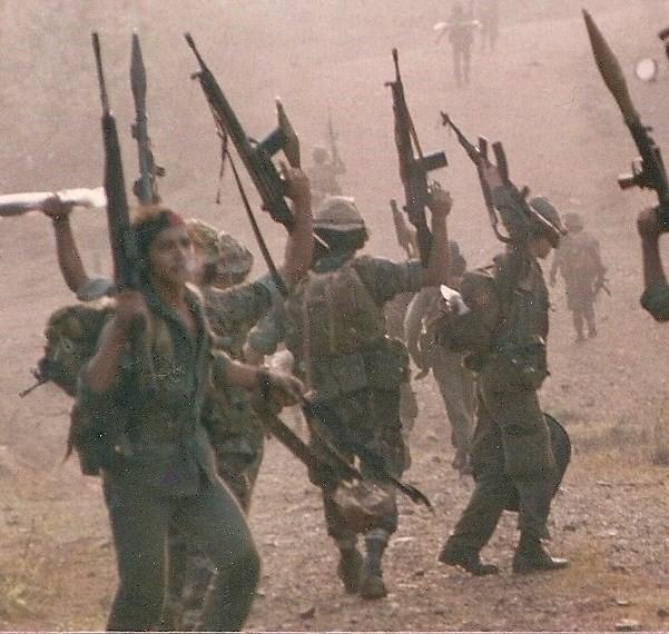Contras sur le Front Sud, 1987