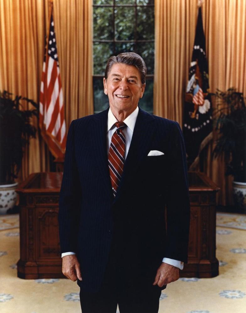 Portrait présidentiel de Ronald Reagan, 1985