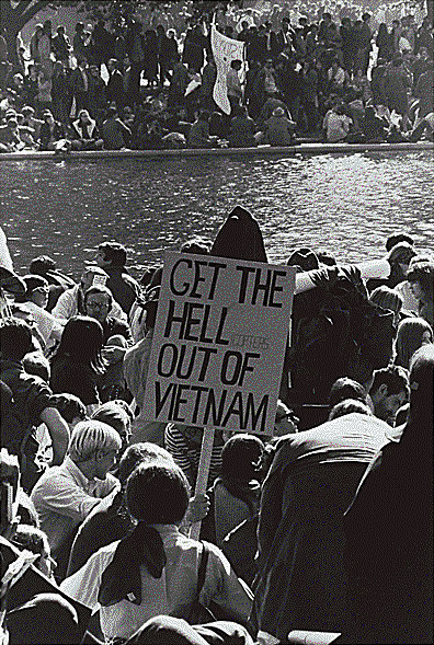 Protestations contre la Guerre du Vietnam, Washington D.C., 1968