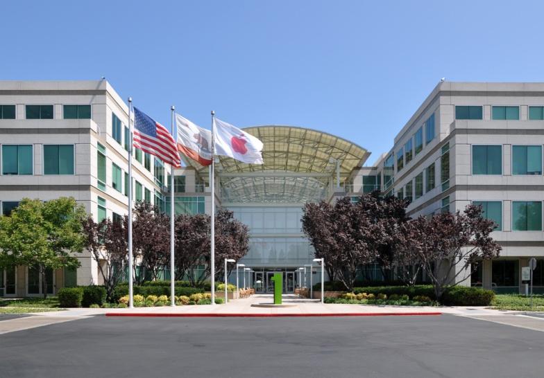 Siège de la société Apple, Cupertino, Californie, 2011