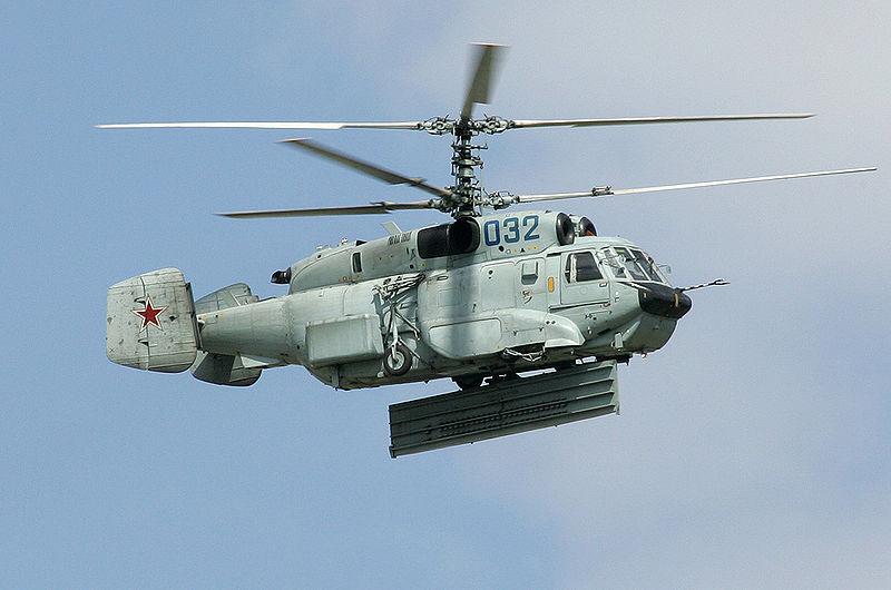 KA-31 d'alerte avancée aux couleurs russes (source : Wikimedia commons.org)