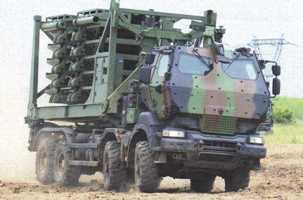 Le système LIBRIS de Dechamps sur un camion KERAX 8x8 de RTD (source : Deschamps)