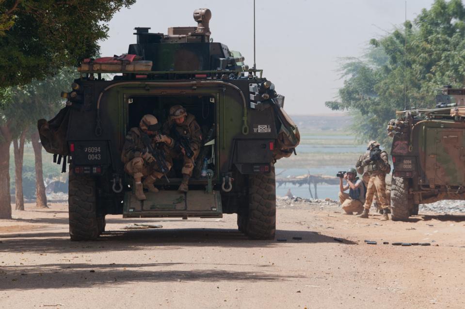 VBCI lors des combats de Gao  (source : ECPAD)