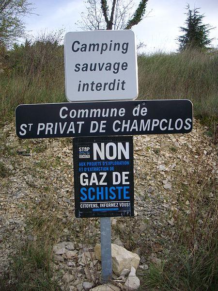 Le gaz de schiste, une question qui divise les Européens