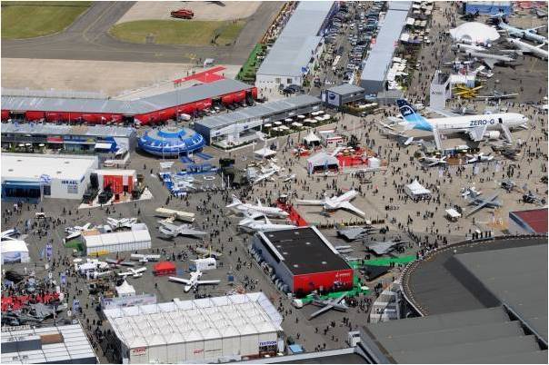 Salon international de l a ronautique et de l espace parc - Salon international de l aeronautique du bourget ...