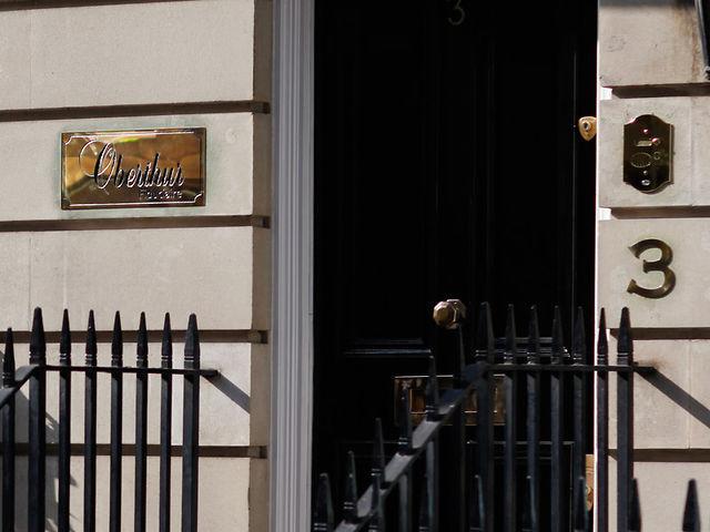 Bureaux d'Oberthur Fiduciaire, à Londres