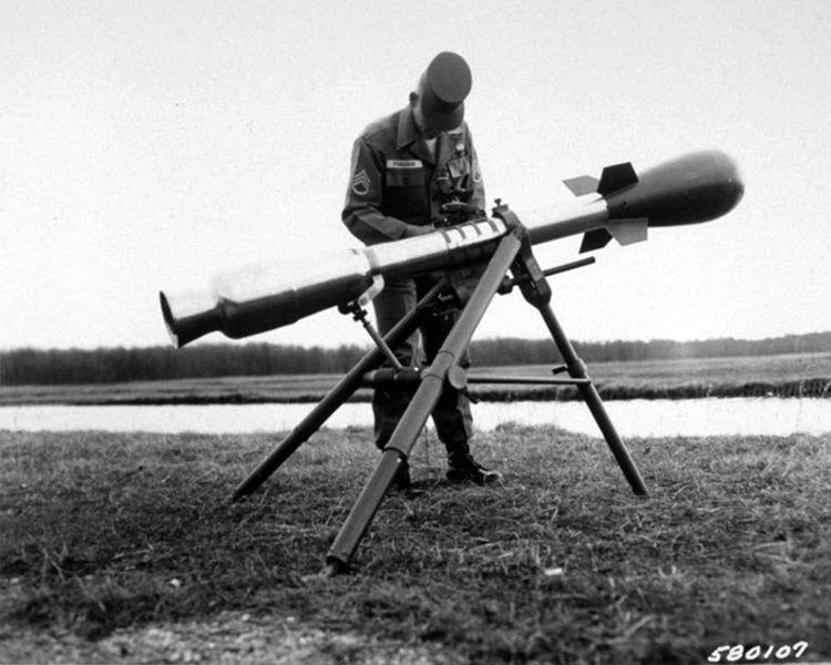 Histoire & curiosités : le lance-roquette nucléaire Davy Crockett
