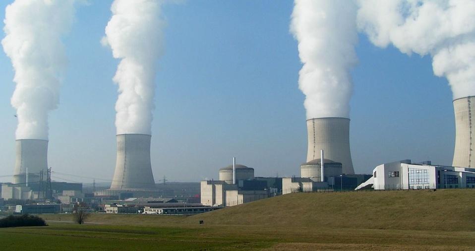 Centre nucléaire de Cattenom (crédit Wikimedia.org)