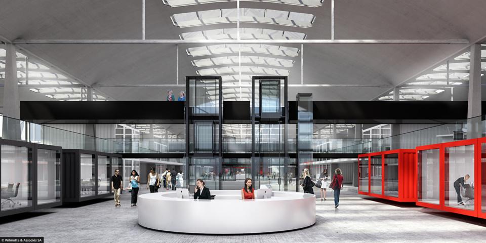 La Halle Freyssinet, futur incubateur de start-up dans le 13ème arrondissement (crédit : http://1000startups.fr/)