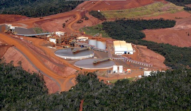 Mine du projet Ambatovy (source : ambatovy.com)