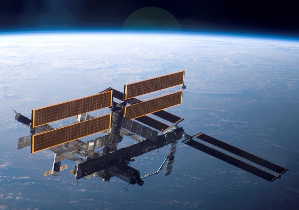 L'ISS (credit : NASA)