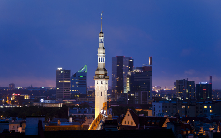 Tallinn, capitale de l'Estonie (licence Creative Commons)