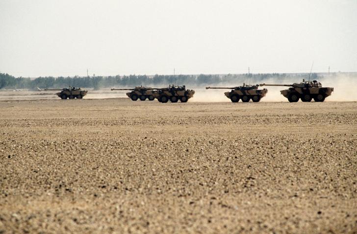 Les AMX-10RC, comme les VAB et les ERC-90, figurent sur la liste des véhicules qui doivent être remplacés par ceux du programme Scorpion