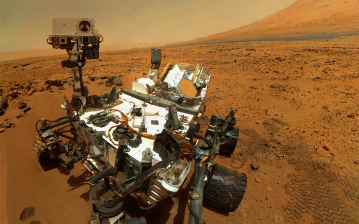 Selfie martien (sous licence Creative Commons)