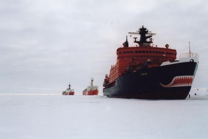 La Russie revendique plus d'un million de km2 et relance la « guerre froide » de l'Arctique.