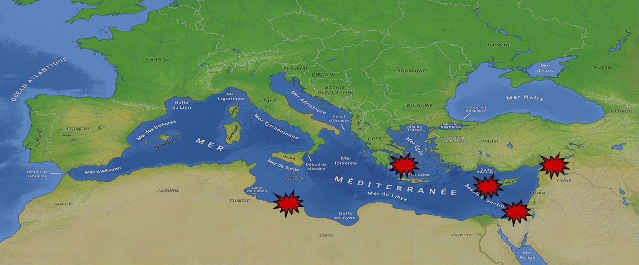 Erdogan : Le pyromane de la Méditerranée