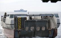 Le L-CAT, symbole de la dualité des opérations amphibies, humanitaire et militaire