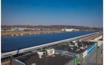 La station d'épuration Aquiris se met au photovoltaïque
