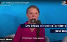 Greta Thunberg, ennemie de l'écologie?
