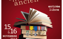 Quatrième édition du salon du livre militaire ancien au Cercle National des Armées à Paris