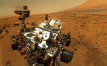 Curiosity poursuit sa mission sur Mars, avec quelques difficultés